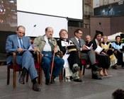Cerimonia in Piazza Maggiore
