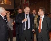 Con il prof. Calzolari e il prof. Dionigi