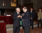Con il prof. Calzolari