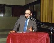 Umberto Eco nel 1988