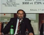 Umberto Eco nel 1989